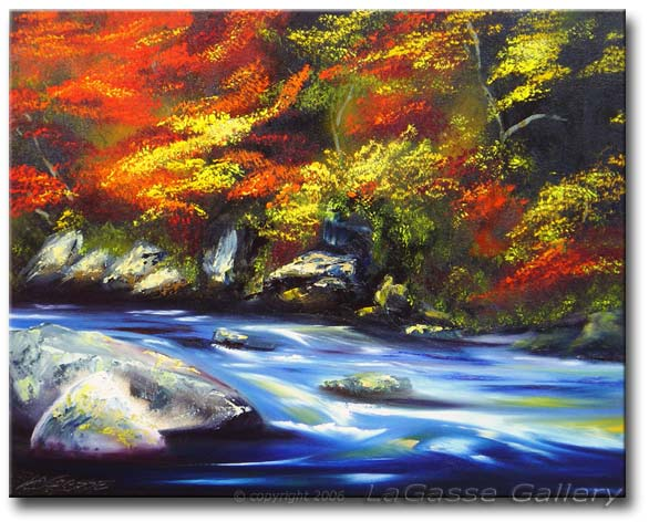 'FALL RIVER IN AUTUMN'