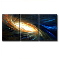 'NIGHT BRILLIANCE' - abstract art | modern painting