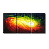 'SPECTRUM' - Giclee Print on Canvas Art