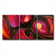 'EVENING ORCHID' - abstract art | modern painting