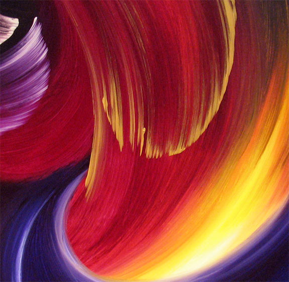 'TURBO LIGHT' by AJ LaGasse - Detail #1