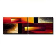 'FOUR WORLDS' - Giclee Print on Canvas Art