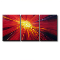 'FIRESTORM II' - abstract art | modern painting