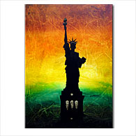 'LIBERTY' - Giclee Print on Canvas Art