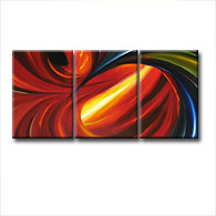 'OPPOSITES ATTRACT' - abstract art | modern painting