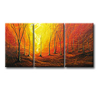 'FOREST JOURNEY' - Giclee Print on Canvas Art