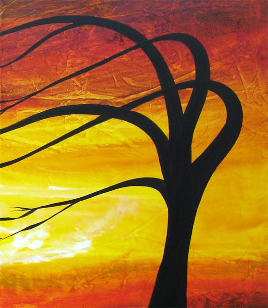 'VINTAGE SUNSET II' by AJ LaGasse - Detail #1