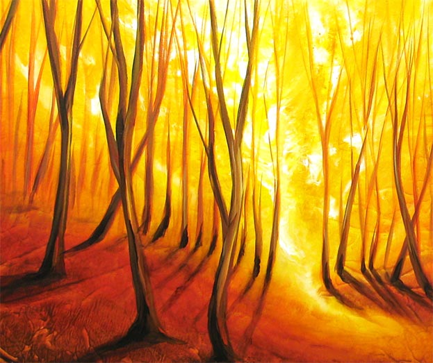 'FOREST GLOW' by AJ LaGasse - Detail #1