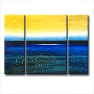'OCEAN BREEZE' - abstract art | modern painting