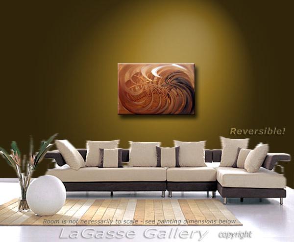 Painting: 'CHOCOLATE SWIRL' - Detail #4