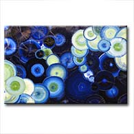 'BAHAMA BLUE' - Giclee Print on Canvas Art
