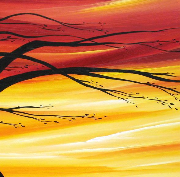 'WALKING ON SUNSHINE' by AJ LaGasse - Detail #1