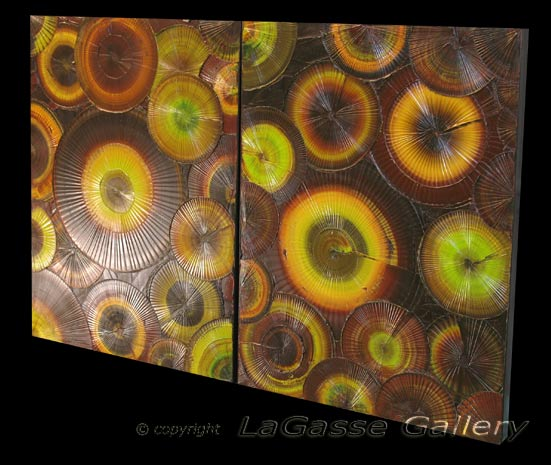 'PURELY PISTACHIO' by AJ LaGasse - Detail #2