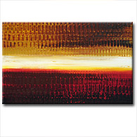 'ZINFANDEL SUNSET' - Giclee Print on Canvas Art