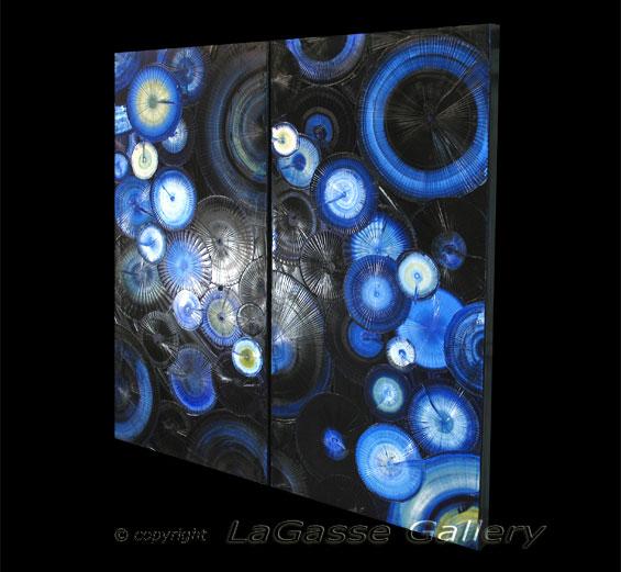 'NIGHT BURST' by AJ LaGasse - Detail #2