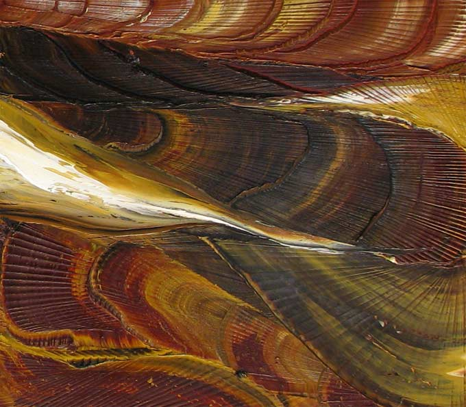 'CANYON STRATA' by AJ LaGasse - Detail #1