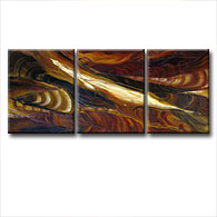 'CANYON STRATA' - Giclee Print on Canvas Art