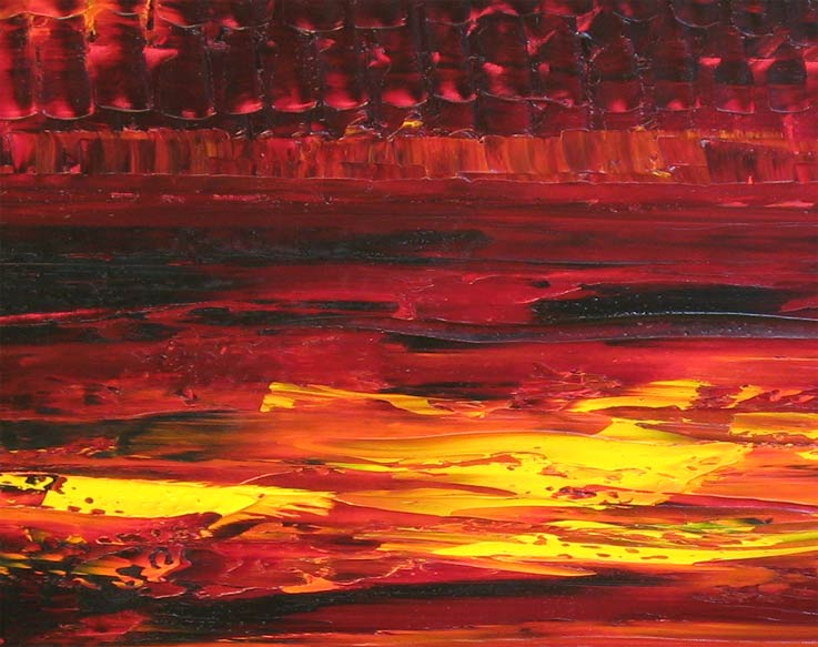 'CABERNET SUNSET' by AJ LaGasse - Detail #1