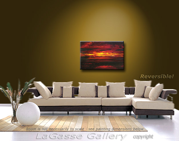 Painting: 'CABERNET SUNSET' - Detail #4