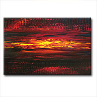 'CABERNET SUNSET' - Giclee Print on Canvas Art