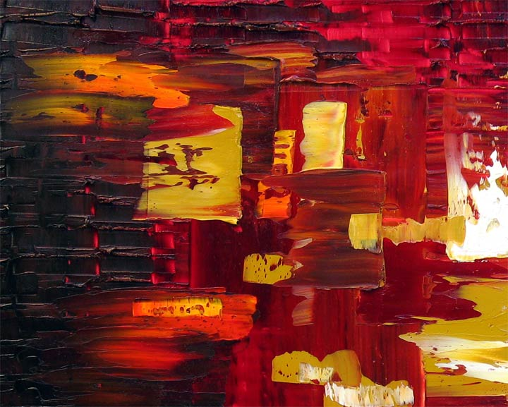 'CRIMSON EMBER' by AJ LaGasse - Detail #1
