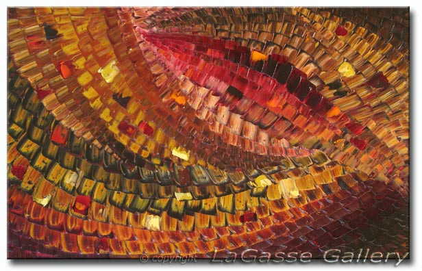 Byzantine Mosaic Abstract Art Fine Art Giclee Print