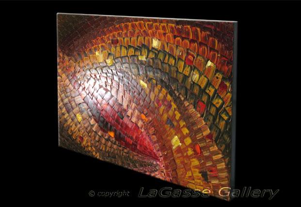 'BYZANTINE MOSAIC' by AJ LaGasse - Detail #2