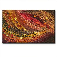 'BYZANTINE MOSAIC' - Giclee Print on Canvas Art