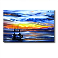 'ENDLESS PASSION' - Giclee Print on Canvas Art