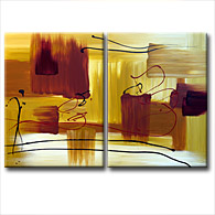 'ZEN REFLECTION' - Giclee Print on Canvas Art