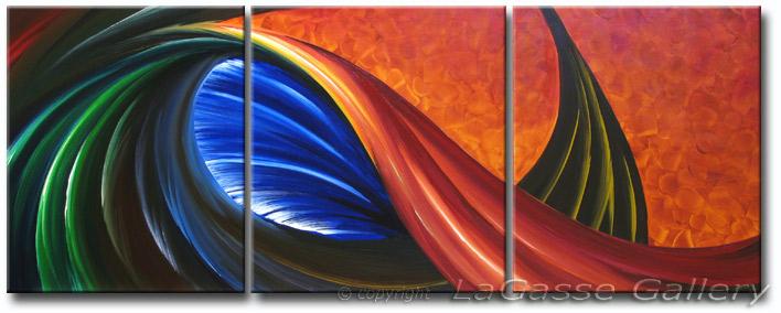 Abstract Art Dreamcatcher