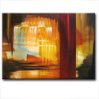 'HIDDEN CITY' - Giclee Print on Canvas Art