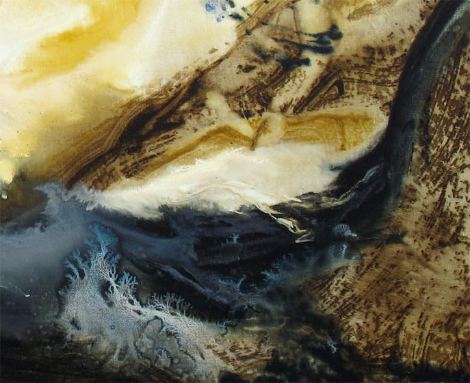 Painting: 'LOOK TO THE FUTURE' - Detail #4