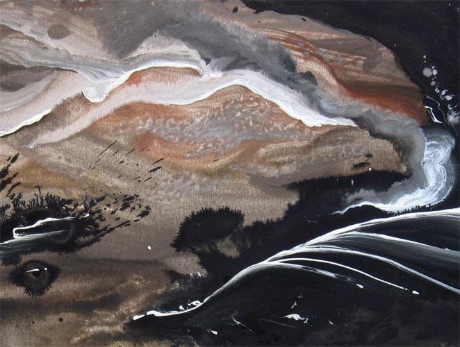 'NIGHT SHADE' by AJ LaGasse - Detail #1