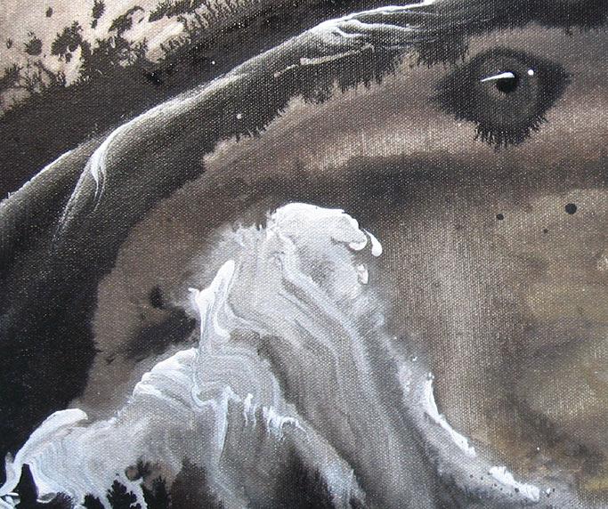 'NIGHT SHADE' - Detail #3