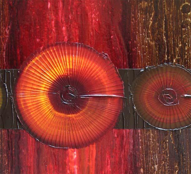 'GARNET STONE' by AJ LaGasse - Detail #1