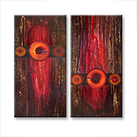 'GARNET STONE' - abstract art | modern painting
