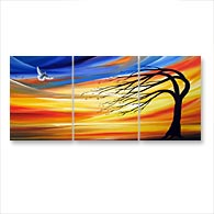 'WINDS OF BRILLIANCE' - Giclee Print on Canvas Art